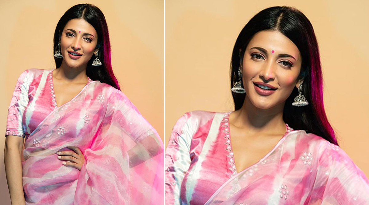 Wedding Fashion 2019-20 - Shruti Haasan in Devnaagri