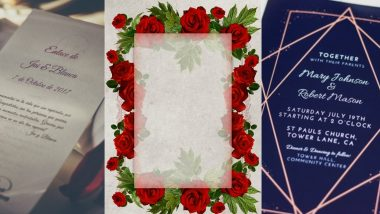 Wedding Invitation Card Designs: Beautiful Card Ideas to Leave a Long-Lasting Impression on Your Guests