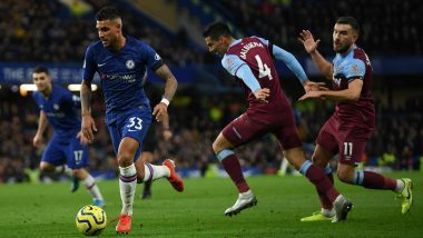 Chelsea 0-1 West Ham, Premier League 2019-20 Result: Aaron Cresswell Halts Hammers' 7-Match Winless Run With Shock Chelsea Win
