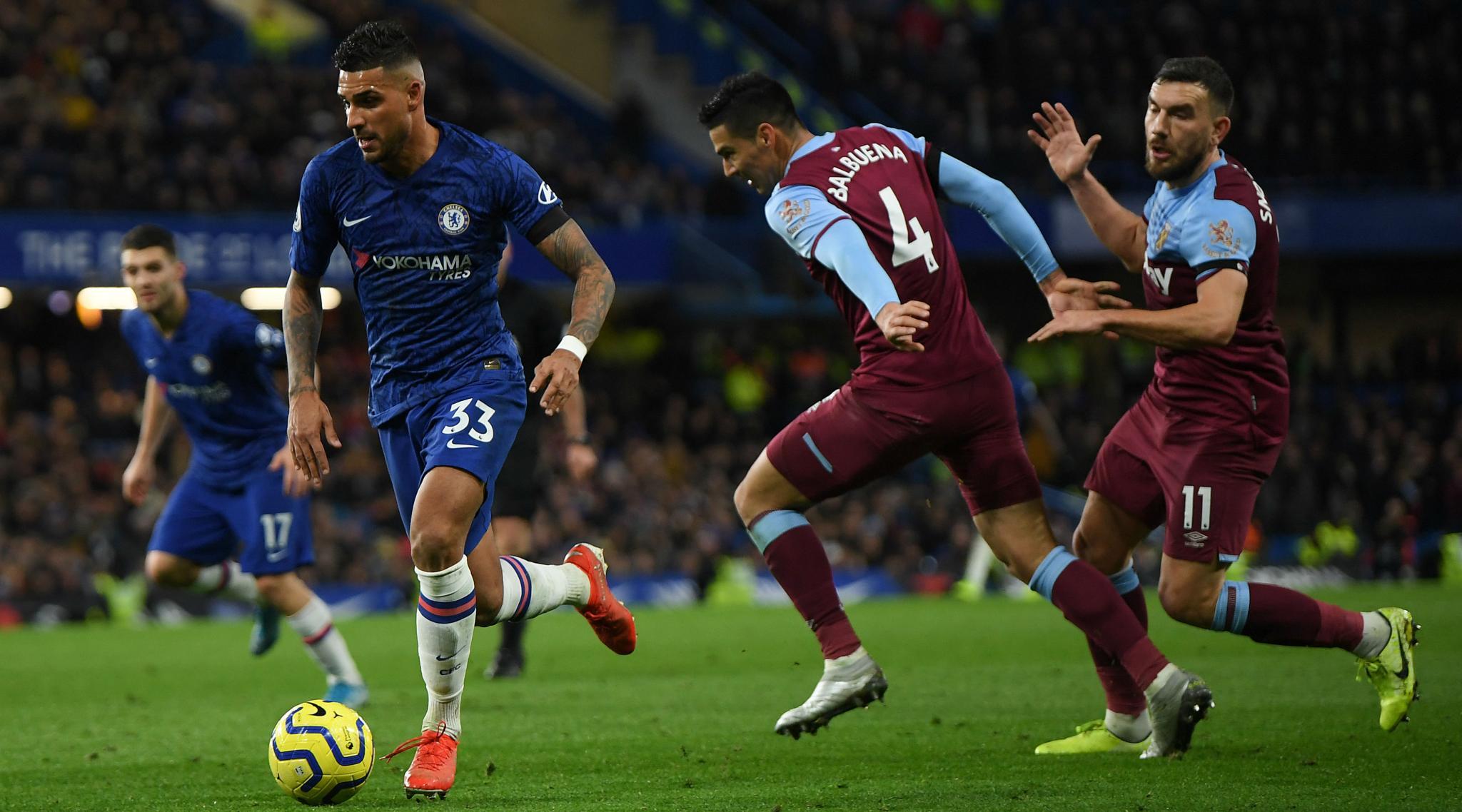 Chelsea 0-1 West Ham, Premier League 2019-20 Result: Aaron Cresswell Halts Hammers' 7-Match Winless Run With Shock Chelsea Win