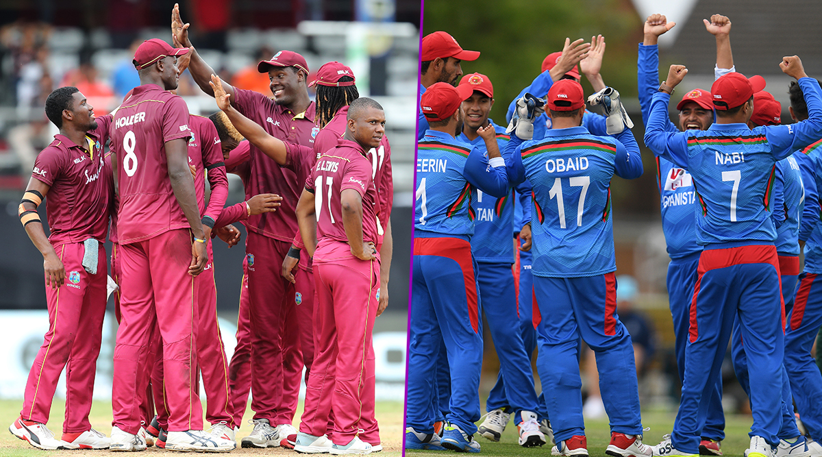 Live Cricket Streaming of Afghanistan vs West Indies, 2nd ODI 2019 Match on Hotstar: Check Live Cricket Score, Watch Free Telecast of AFG vs WI on TV and Online