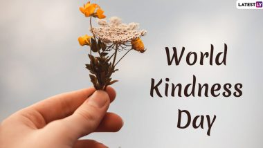 World Kindness Day 2019 Date: History and Significance of This Observance Which Aims at Promoting Good Values