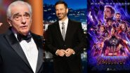 Jimmy Kimmel Gives a Comical Touch to Martin Scorsese and Marvel Movies Controversy - Check Out His Funny Video