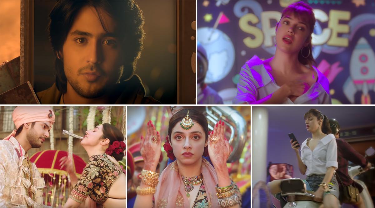 Yaad Piya Ki Aane Lagi Video Divya Khosla S Version Of The Cult Falguni Pathak Song Is Every 90s Kid S Nightmare Latestly