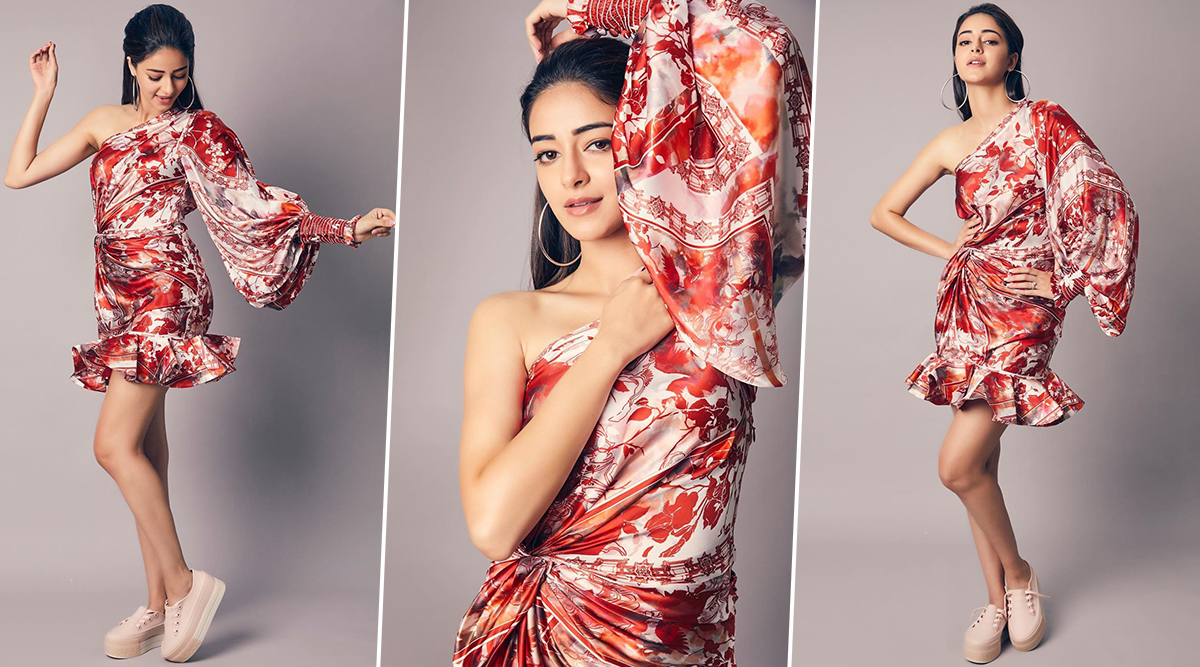 Yo or Hell No Ananya Panday in Leo & Lin for Pati, Patni Aur Woh Promotions (1)