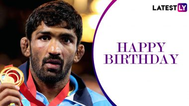 Happy Birthday Yogeshwar Dutt: Achievements and Lesser-Known Things to Know About the Olympic Bronze Medallist Indian Wrestler