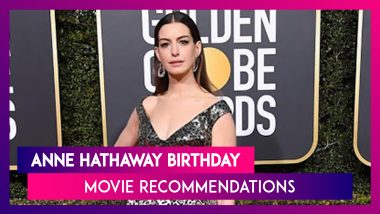 On Anne Hathaway's Birthday, Here Are 7 Movies Starring the Actress to Watch