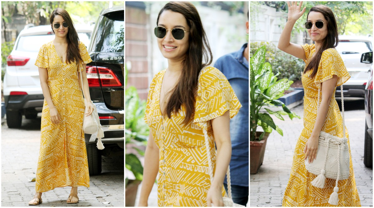 Shraddha Kapoor's Yellow Maxi Dress is a Must-Have in Your Summer Wardrobe (View Pics)