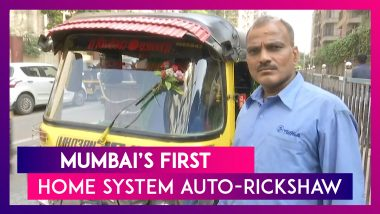 Here's Mumbai's First Home System Auto-Rickshaw With Wash Basin, Phone Charging Points & Many Other Things