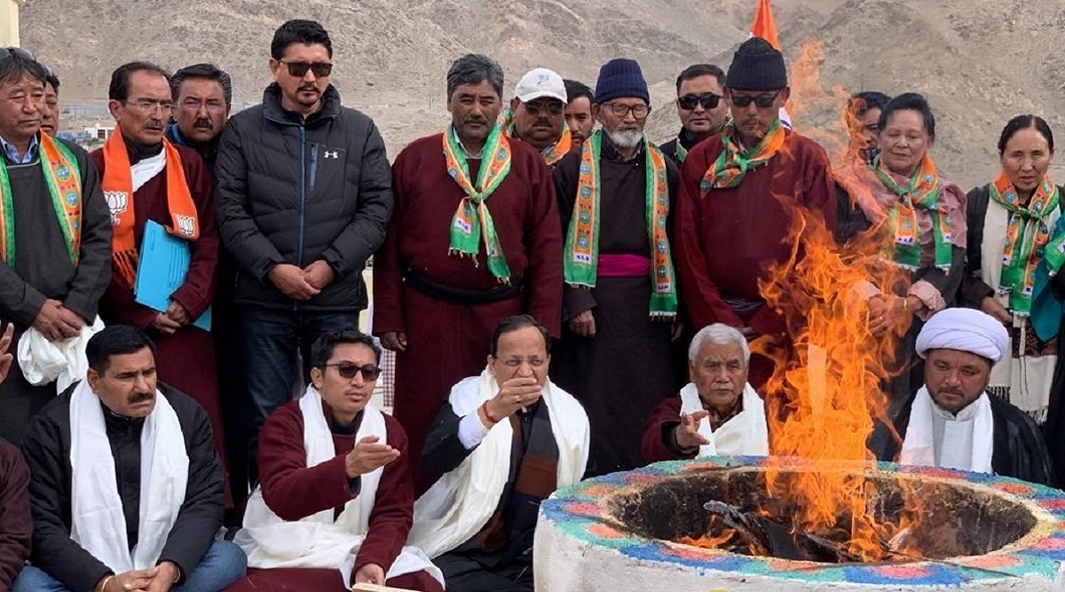 BJP Opens New Office at 11,000 Feet in Leh, Days After Ladakh Declared a Separate Union Territory