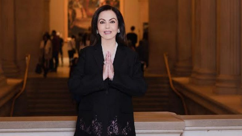 Nita Ambani, Chairperson of Reliance Foundation, Elected Honorary Trustee of New York's Metropolitan Museum of Art