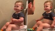 Potty-Training Toddler Defiantly Tells Dad, 'I Didn't Poop, I Peed,' After Having Just Pooped, Hilarious Video Leaves the Internet in Splits