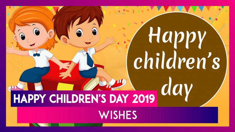 Happy Children's Day 2019 Wishes: Messages, Quotes and Images to Send Greetings of Bal Divas