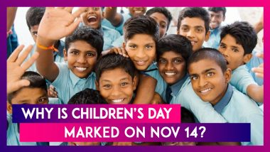 Children's Day Special: Know Why Children's Day Is Marked On November 14 In India