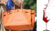 Country Club Sues Their Waiter For Pouring Red Wine on Guest's $30,000 Hermès Handbag!
