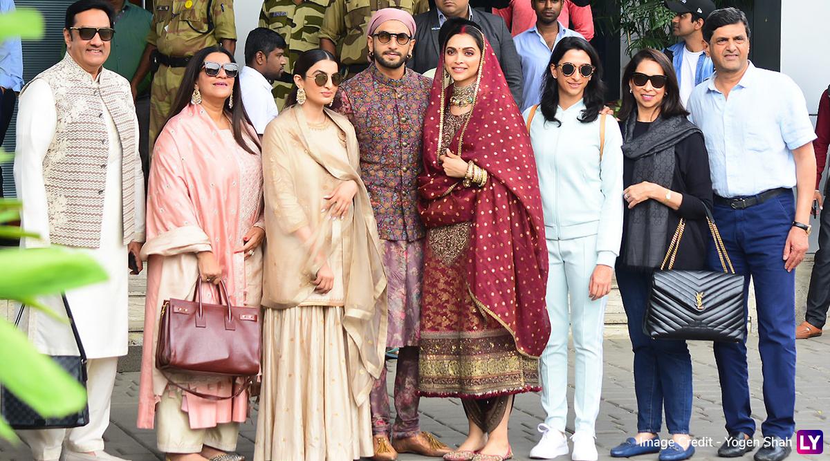 Deepika Padukone-Ranveer Singh Return From Their Religious ...