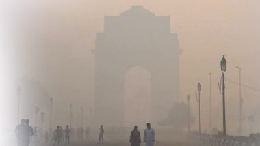 Delhi: Sudden Spike in Air Pollution in National Capital Due to Dust Storm Blowing From Rajasthan