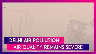 Delhi Air Pollution: Air Quality Continues To Remain Severe | AQI Hovers Around 500-Mark