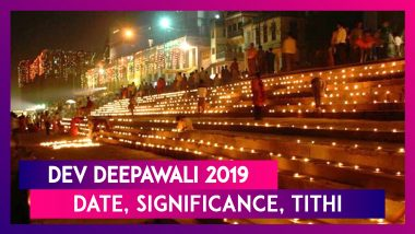 Dev Deepawali 2019: Significance, Rituals And Celebration Of Varanasi's Grandest Festival Of Lights