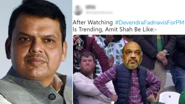 Devendra Fadnavis As Prime Minister? Twitterati Comes Up With Hilarious Memes and Jokes After #DevendraFadnavisForPM Goes Viral