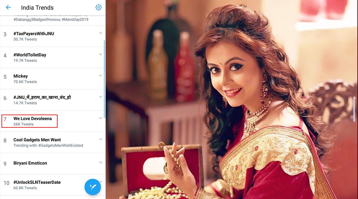Bigg Boss 13: 'We Love Devoleena' Trends On Twitter, Is It Because Of Her Closeness To Sidharth Shukla?
