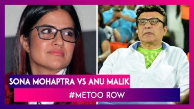 #MeToo: Sona Mohapatra Thanks Her Fans As Anu Malik Steps Down From Indian Idol 11