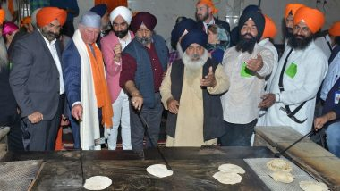 Britain's Prince Charles Visits Bangla Sahib Gurudwara in Delhi, Tries Flipping 'Chapati'