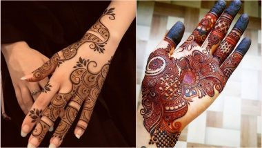 Mehndi Designs for Eid-E-Milad-Un Nabi 2019: Wear These Traditional Henna Patterns to Celebrate Mawlid 2019