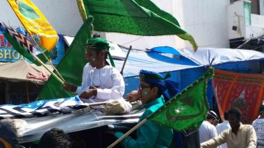 Eid-E-Milad-Un-Nabi 2019: Hyderabad Celebrates the Birth Anniversary of Prophet Muhammad Peacefully