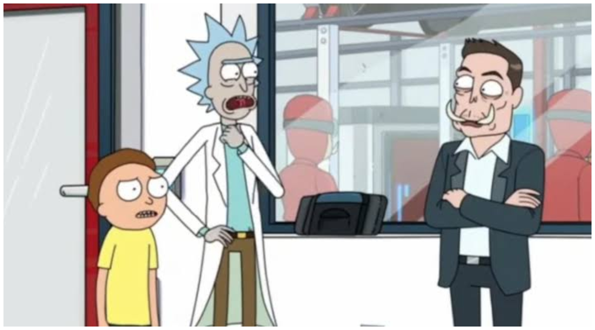 Elon Musk Makes a Special Apperance on Rick and Morty Season 4, Finally Explaining His 'Elon Tusk' Twitter Handle