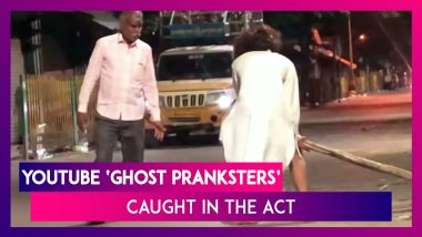 YouTube 'Ghost Pranksters' Arrested In Bangalore For Scaring Motorists