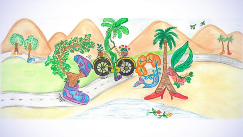 Children's Day 2019 In India Doodle for Google Full Winners' List: Search Engine Giant Releases Beautiful Images To Mark Bal Diwas