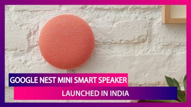 Google Nest Mini Second Generation Smart Speaker Launched In India At Rs 4,499; Check Prices, Colors & Specifications