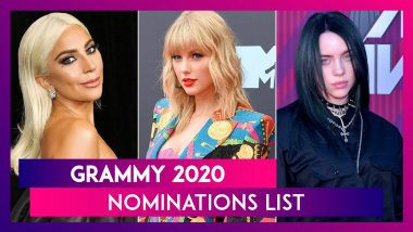 Grammy 2020 Nomination: Here's The Complete List
