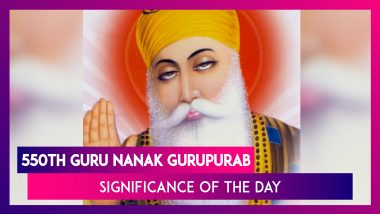 550th Guru Nanak Gurpurab: Significance Associated With Guru Nanak Jayanti