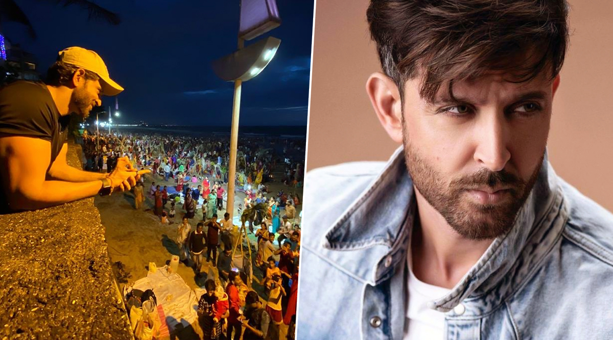 Hrithik Roshan Extends Chhath Puja Greetings to Devotees, Thanks Fans For Interacting With Him At The Beach