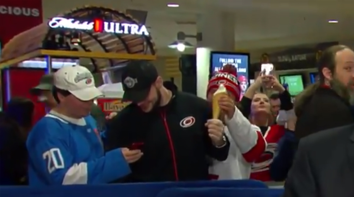 Man Steals Ice Cream on Live TV! But Internet Thinks the Viral Video Is Staged