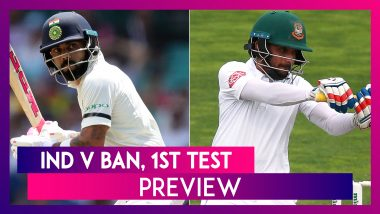 India vs Bangladesh 1st Test At Indore, Preview: India Favourites To Win