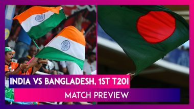 India vs Bangladesh 1st T20I 2019 Preview: Rohit Sharma Eyes History; IND Aim to Continue Winning