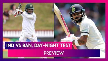 IND Vs BAN Day-Night Test 2019 Preview: India Aim For 12th Straight Home Series Win On D/N Debut