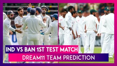 India vs Bangladesh Dream11 Team Prediction, 1st Test 2019: Tips To Pick Best Playing XI