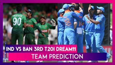 India Vs Bangladesh Dream11 Team Prediction, 3rd T20I 2019: Tips To Pick Best Playing XI