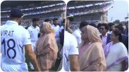 Sheikh Hasina and Sachin Tendulkar Greet Virat Kohli & Men; Bangladeshi PM & Mamta Banerjee Ring The Bell Ahead of IND vs BAN, Pink Ball Test 2019 (See Pics & Videos)