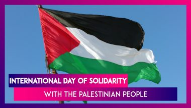International Day Of Solidarity With The Palestinian People: Date, History & Significance Of The Day