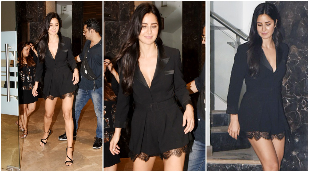 Katrina Kaif's Little Black Dress is Perfect for Your Staurday Night Party - View Pics