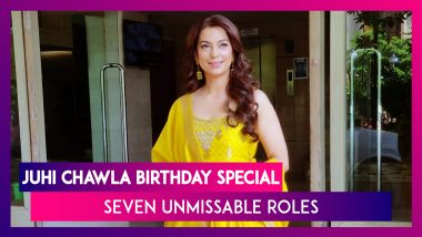 Juhi Chawla Birthday Special: Seven Unmissable Roles Of The Bollywood Actress - A Must Watch!
