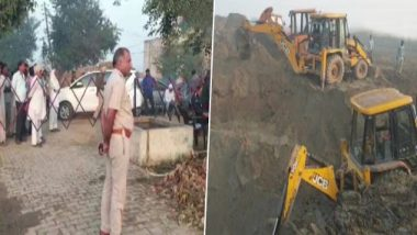 Haryana Borewell Tragedy: 5-Year-Old Girl Dies Minutes After Being Rescued From 50-Feet-Deep Open Borewell in Karnal