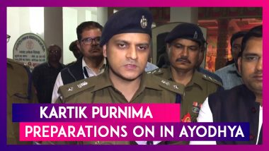 Ayodhya: District Administration, Police Officials Review Preparations Ahead Of Kartik Purnima