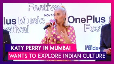 Katy Perry In India, Says She Is Super Excited And Wants To Get Immersed In Indian Culture