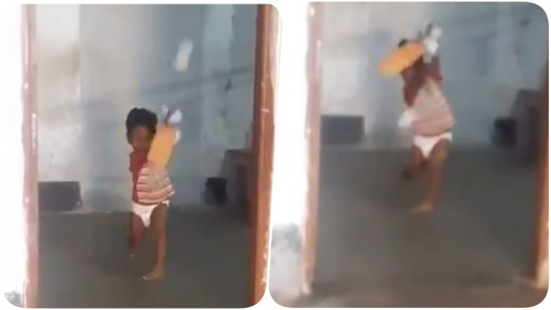 Sachin Tendulkar 2.0? This Kid Is Reminding Everyone Of Master Blaster After Video Of Him Playing Perfect Cover Drive Shot Goes Viral